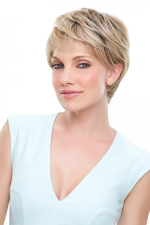 Anne Heat Defiant Handtied Monofilament Lace Front Wig
