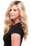"""Top Wave 18"""" Hair Additions Monofilament Clip In Topper Hair Piece"""