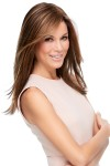 """Top Secret 18"""" Hair Additions Monofilament Clip In Topper Hair Piece"""