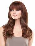 easiFringe Human Topper Clip In Bang Hair Piece