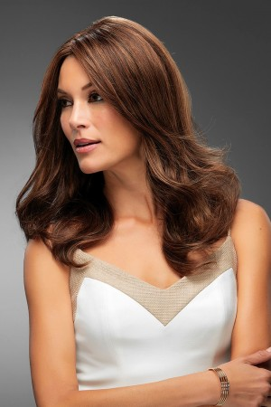 Angie SmartLace Handtied Monofilament Lace Front Human Wig