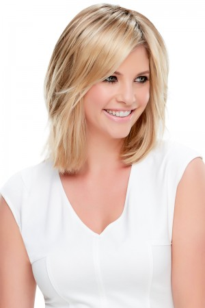 Essentially You Hair Additions Monofilament Clip In Topper Hair Piece