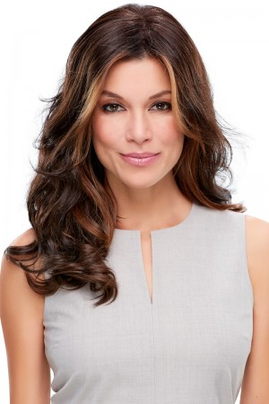 Top Level Hair Additions Monofilament Clip In Topper Hair Piece